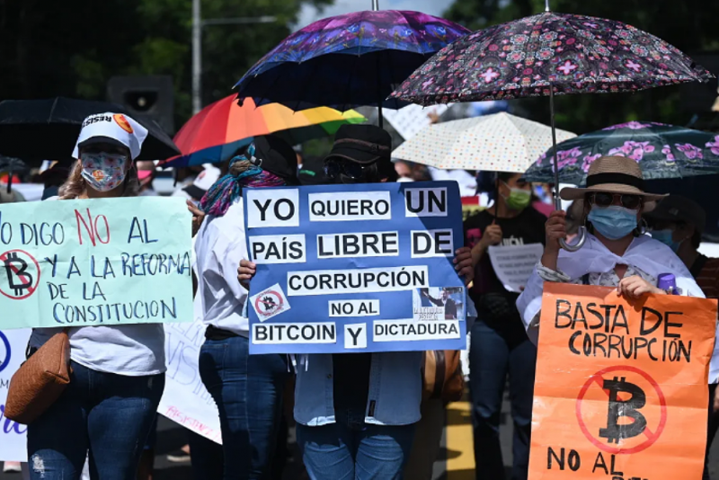 Gegen Korruption, Bitcoin und Diktatur: In El Salvador nimmt der Widerstand gegen die Regierung Bukele zu