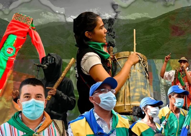 In  Kolumbien haben sich verschiedene Volkswachen entwickelt