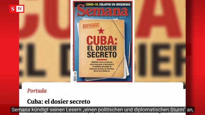 Ein Geheimdienstdossier beschuldigt Kuba, es plane eine Einmischung in die Wahlen 2022 in Kolumbien
