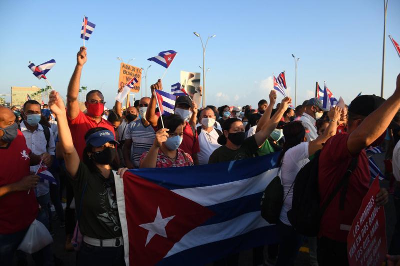 Kundgebung in Havanna
