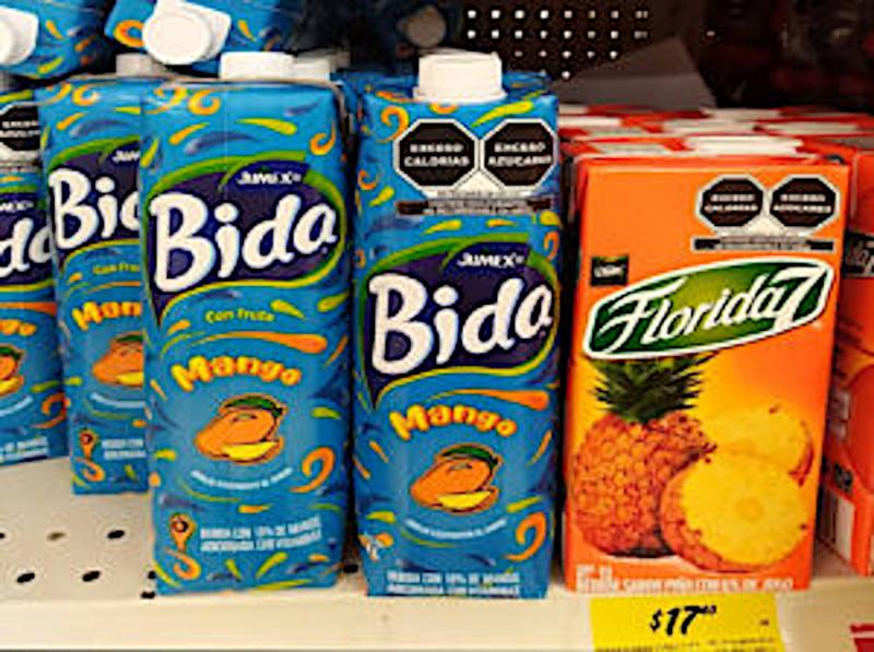 Lebensmittelverpackungen mit doppelter Frontseite