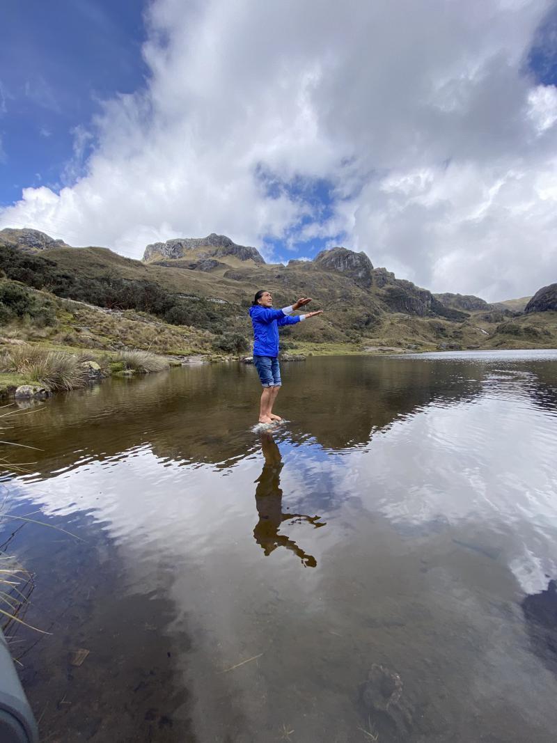 """Yaku Pérez zieht sich von Pachakutik und vorerst aus der Politik zurück und will sich nun wieder """"mit juristischen Themen und der Verteidigung des Wassers"""" beschäftigen"""