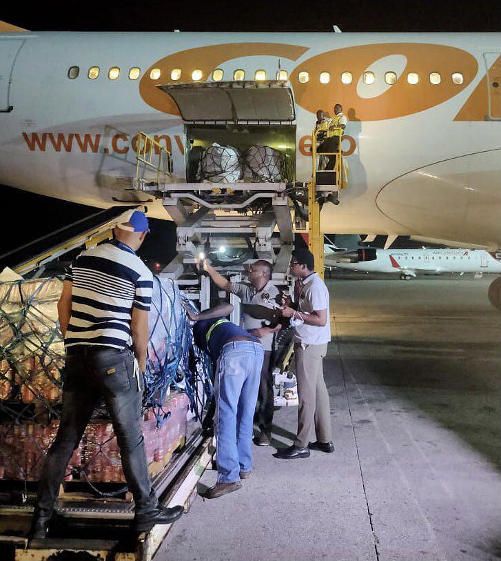 Venezuela hat seit dem Erdbeben am 14. August insgesamt 62 Tonnen Hilfsgüter nach Haiti gebracht
