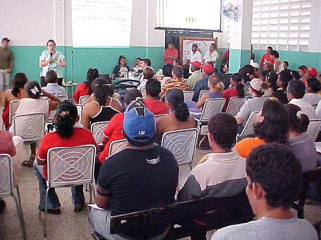 Sitzung eines Consejo Communal (Archivfoto)