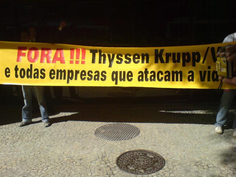 Brasilien: Staatsanwalt untersucht Vorgehen von Thyssen Krupp