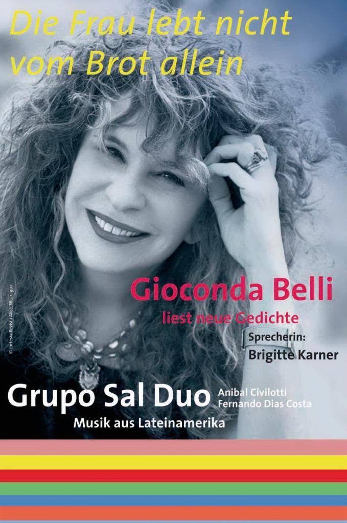 Gioconda Belli Liest Neue Gedichte Amerika21