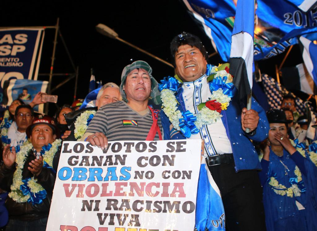 Präsidentschaftswahl in Bolivien: Amtsinhaber Morales muss offenbar in Stichwahl