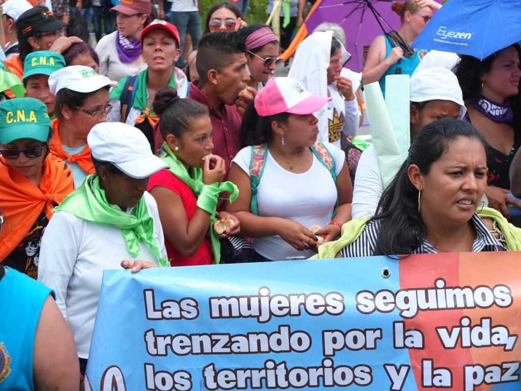 Frauen kolumbien