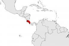 Costa Rica Karte Mittelamerika.Costa Rica Amerika21