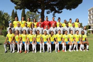 Gruppenbild für Frankreich - das Team aus Brasilien