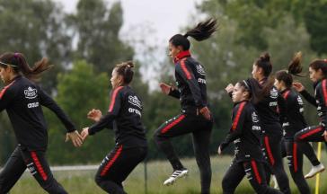Chile macht sich warm für die FIFA-WM in Frankreich