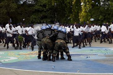 Stabilisierung?- Ausbildungslehrgang bei der MINUSTAH