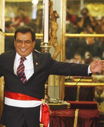 Mit Menschenrechten auf Kriegsfuß: Premierminister Javier Velásquez