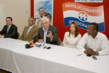 Pressekonferenz der Oppositionspartei PRD