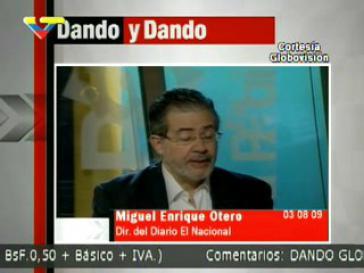 Müsste auch in Deutschland mit Ärger rechnen: Miguel Henrique Otero