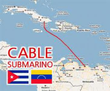 Größtes Teilstück des neuen Kabels zwischen Venezuela und Kuba