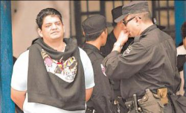 Francisco Chávez Abarca vor seiner Auslieferung nach Kuba