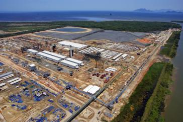 Sorgt für Ärger: Deutsches Stahlwerk in der Nähe von Rio
