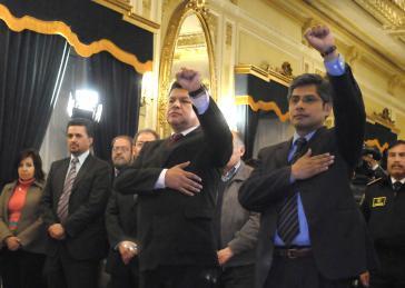 Zwei neue Minister in Bolivien