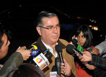Perus neuer Premierminister Oscar Valdes