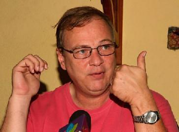 Der nicaraguanische Journalist William Grigsby
