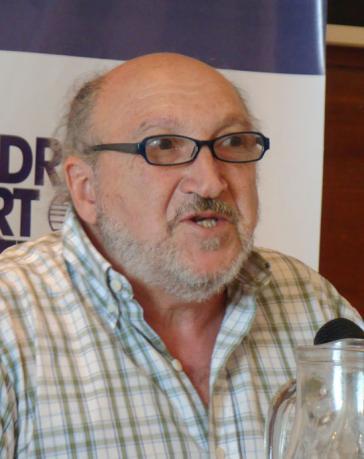 Aram Aharonian, uruguayischer Journalist und Hochschullehrer, Mitbegründer von Telesur, Direktor des uruguayischen Observatorio en Comunicación y Democracia