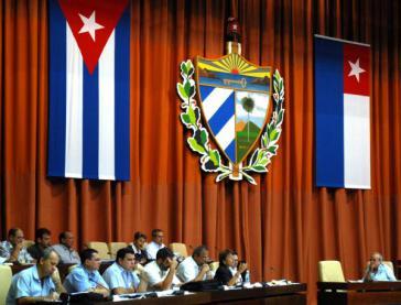 Nationalversammlung in Kuba