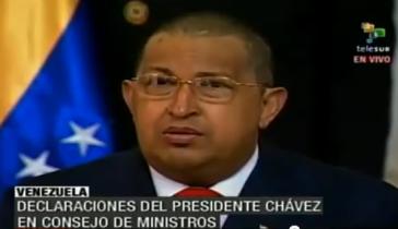 Ohne Haare: Chávez nach Beginn seiner Chemotherapie