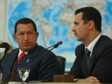 Hugo Chávez und Baschar al-Assad