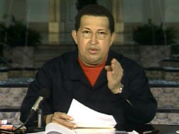 Chávez im Proramm von VTV