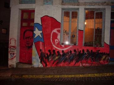 Graffito in Chile