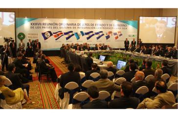 Gipfeltreffen der SICA