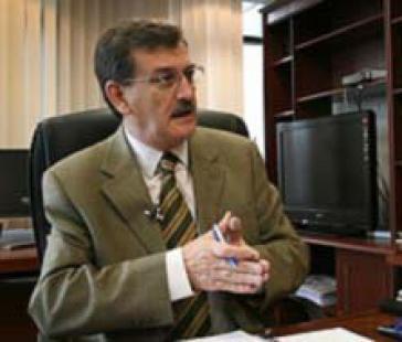 der ecuadorianische Minister für fossile Energieträger Wilson Pástor