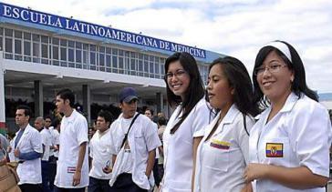 Internationale Studierende der ELAM