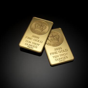 Goldbarren, hier aus Panama