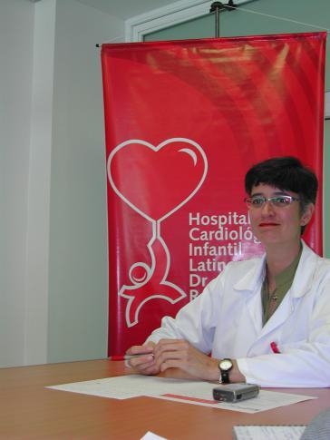 Krankenhaus-Direktorin Isabel Iturria