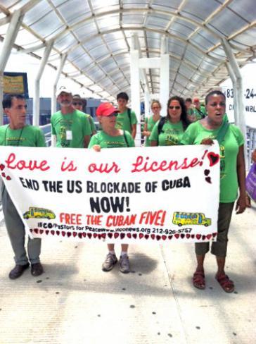 Aktivisten der Pastors for Peace