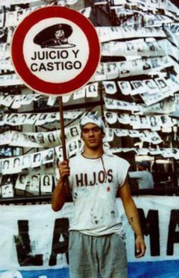 Demonstration gegen die Straflosigkeit in Argentinien