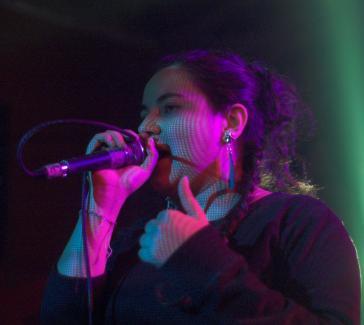 Lucia Vargas im Januar 2011 in Berlin