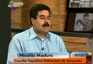 Maduro im Interview mit VTV