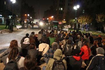 Proteste nach der Entscheidung der Kommission