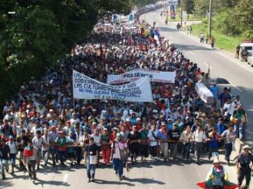Studierendenproteste in Kolumbien