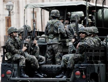 Vorwürfe schwerer Menschenrechtsverletzungen: Mexikanische Soldaten