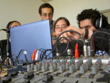 Radiomachen beim NPLA