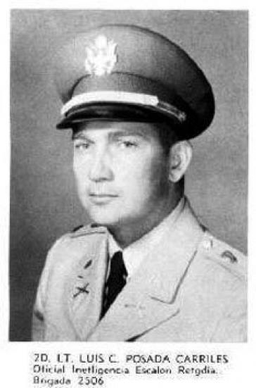 Luis Posada Carriles als US-Militär 1962