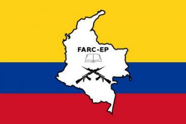 """Logo der """"Revolutionären Streitkräfte Kolumbiens"""" (FARC)"""