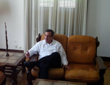 Rodolfo Reyes, Kubas Botschafter in Genf