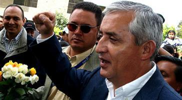 Guatemalas Präsident Otto Pérez Molina