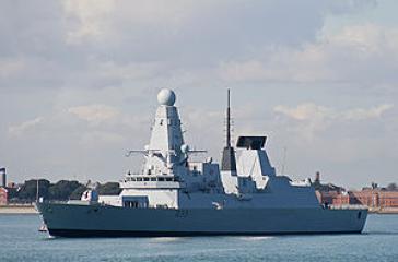 Die HMS Dauntless
