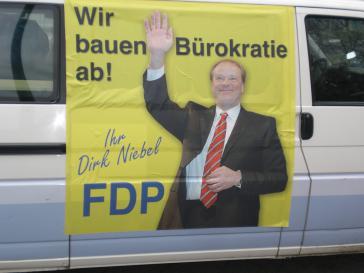 Dirk Niebel: Bürokratieabbau?